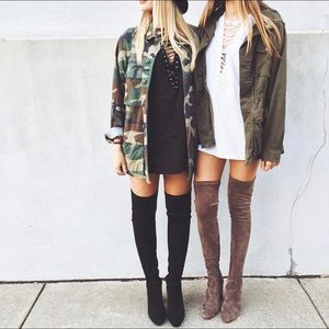 🍂jeffrey campbell cienega over the knee boot🍂